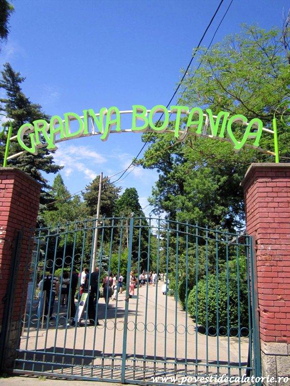 Gradina Botanica Dimitrie Brandza Bucuresti