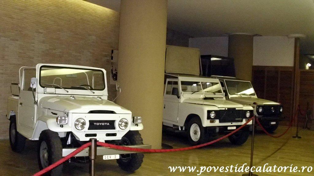 muzeul trasurilor vatican