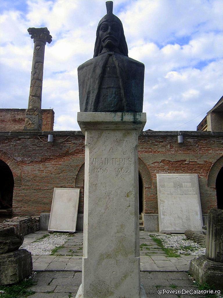 Bustul lui Vlad Tepes