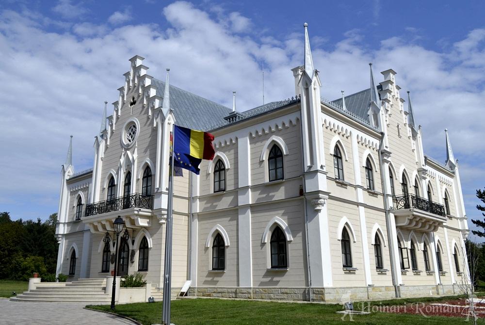 palatul cuza -ruginoasa
