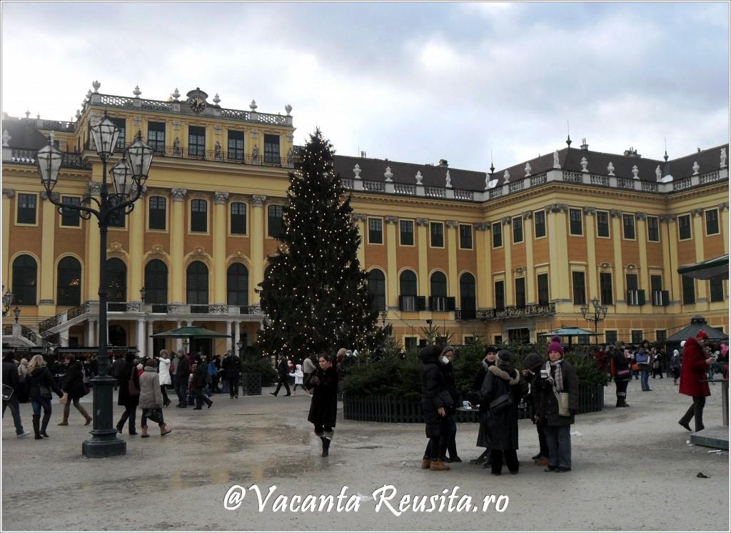 Targul de Craciun de la Palatul Schonbrunn 1