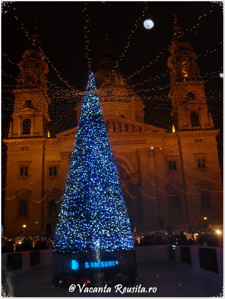 Targul de Craciun din Budapesta -Biserica Sfantul Stefan3