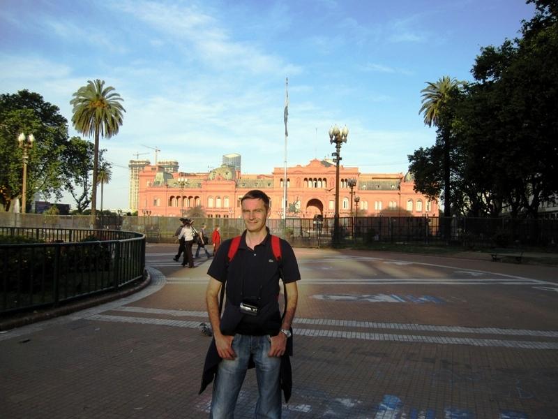 BUENOS AIRES - PALATUL PREZIDENTIAL (1)