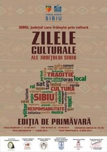 afis zilele culturale 2013 -