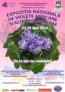 grad botanica violete