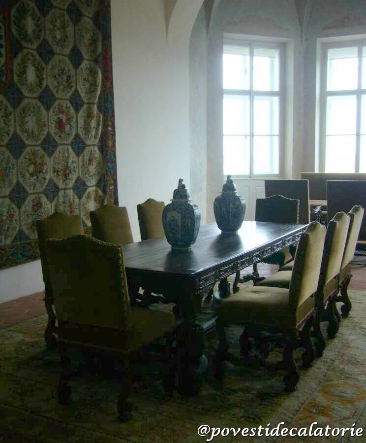 Castelul Praga Palatul Rosenberg2 salon
