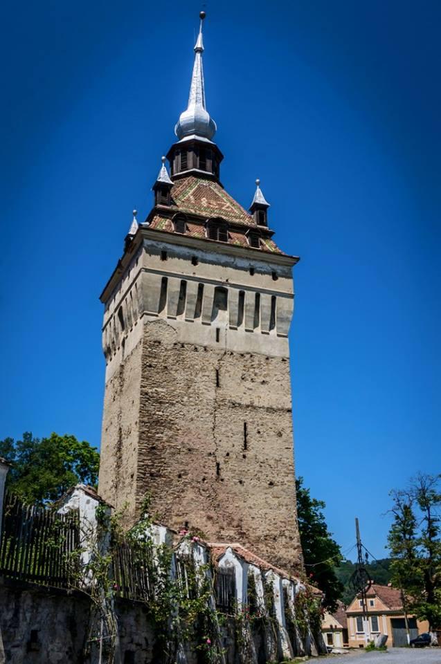 Turnul cu ceas din Saschiz