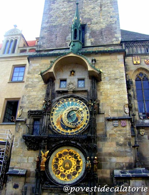 Ceasul astronomic din Piata Orasului Vechi Praga