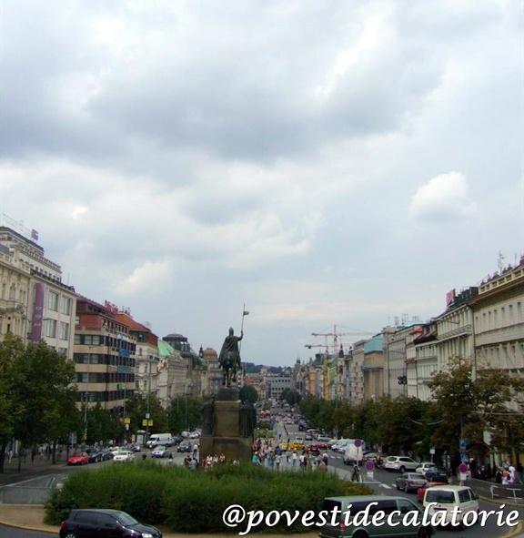 Praga Piata Wenceslas