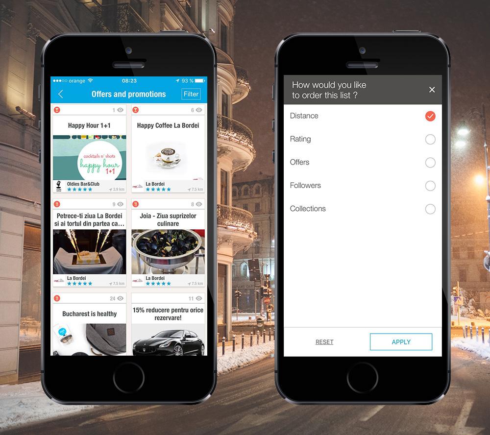 Bucharest City App - new features (1)